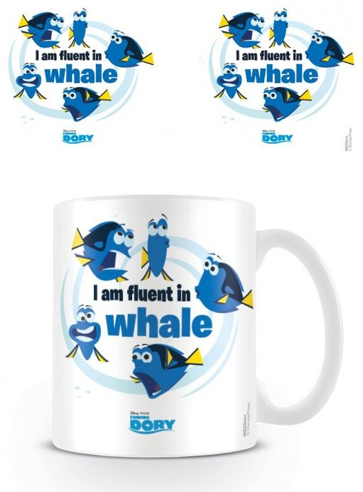 Finding Dory - I Am Fluent In Whale mok
