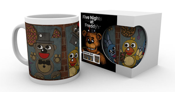 Five Nights At Freddy's - Vintage Posters mok