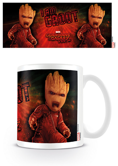 Guardians Of The Galaxy Vol. 2 - Angry Groot mok