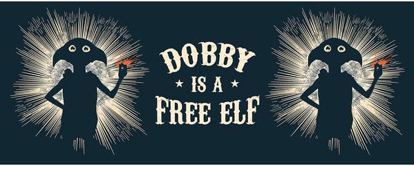 Harry Potter - Free Elf mok