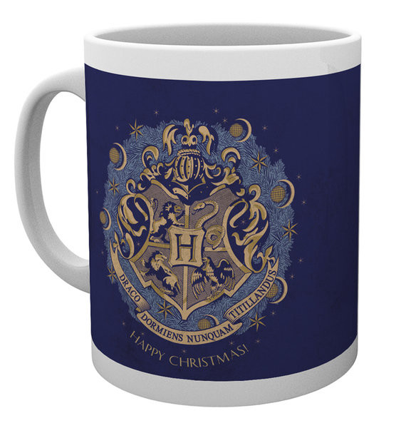 Harry Potter - Xmas Hogwarts mok