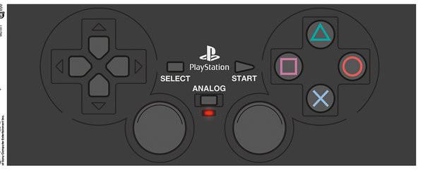 Playstation - Dualshock 2 mok