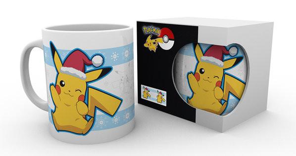 Pokemon - Pikachu Santa mok