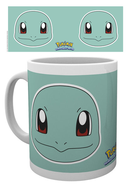 Pokémon - Squirtle Face mok