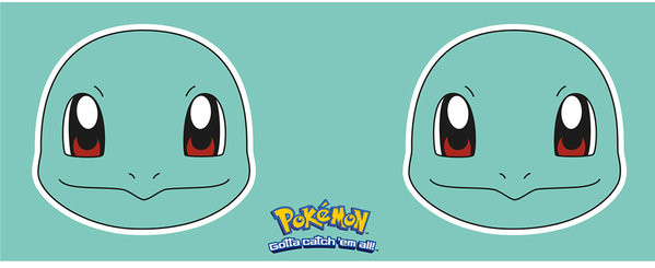 Pokémon - Squirtle Face mok