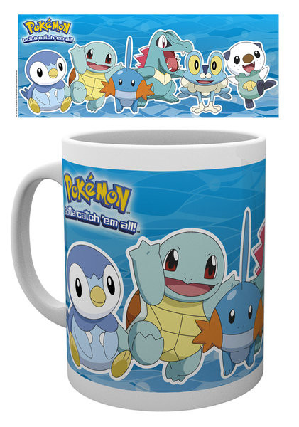 Pokémon - Water Partners mok