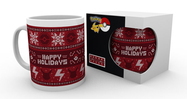 Pokemon - Xmas Jumper mok