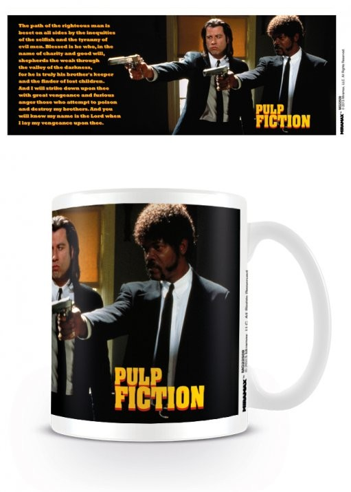 Pulp Fiction - Guns, Vincent and Jules mok