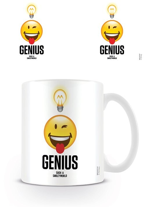 Smiley - Genius mok