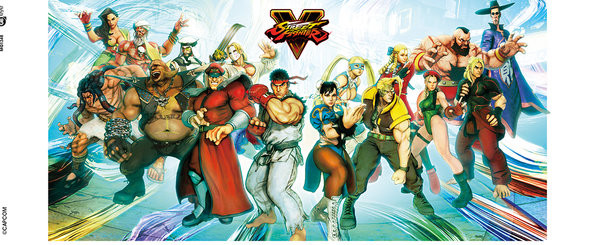 Street Fighter 5 - Characters mok