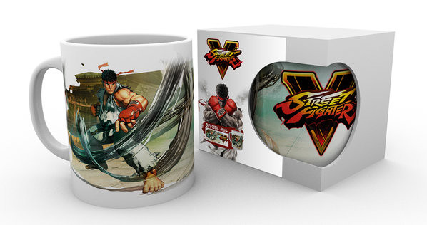Street Fighter 5 - Ryu mok