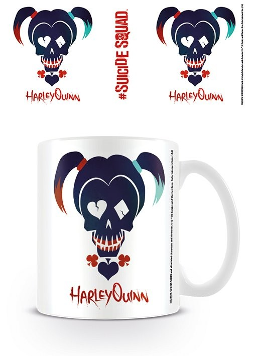 Suicide Squad - Harley Quinn Skull mok