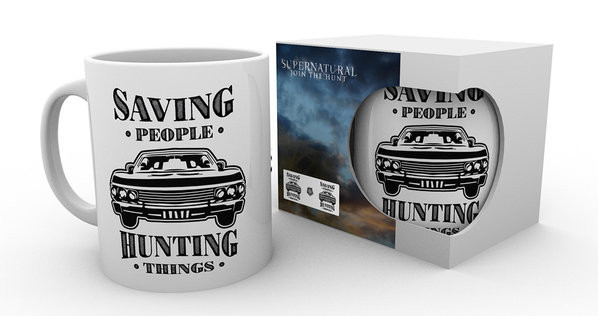 Supernatural - Hunting Things mok