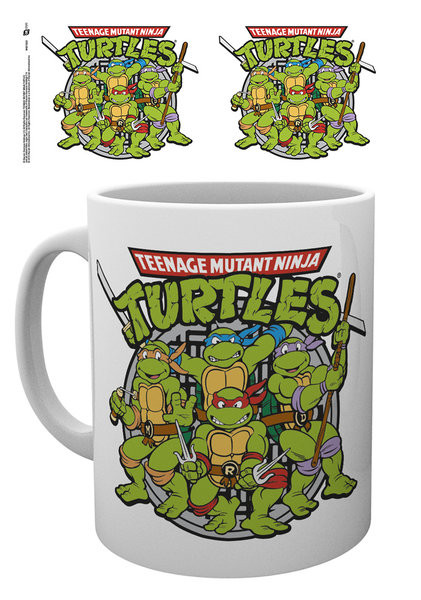 Bestel Een Teenage Mutant Ninja Turtles Retro Mok Mug Op