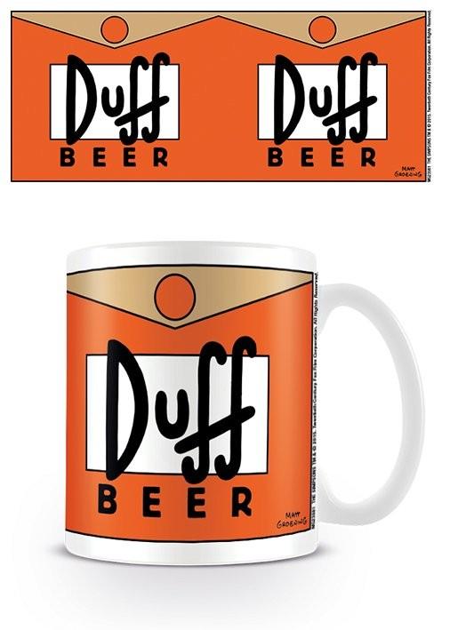 The Simpsons - Duff Beer mok