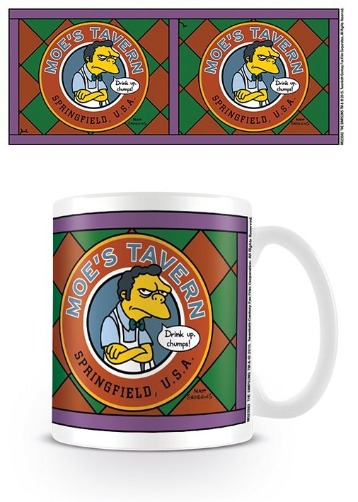 The Simpsons - Moe's Tavern mok