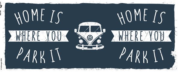 VW Camper - Home mok