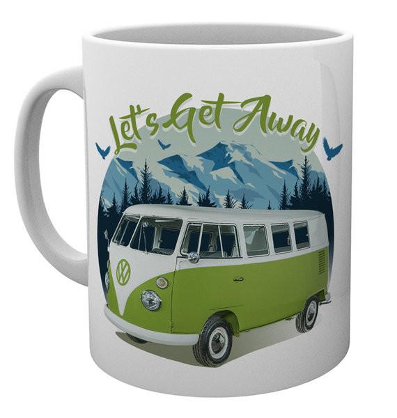c1316480 Bestel een VW Camper - Lets Get Away mok, Mug op EuroPosters.be