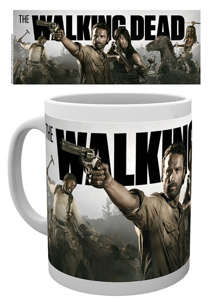 Walking Dead - Banner mok