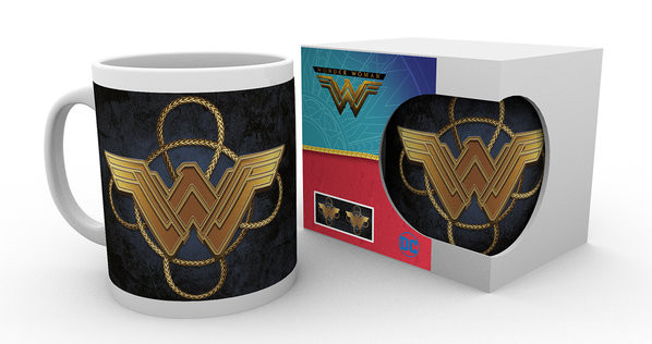 Wonder Woman - Gold Logo mok