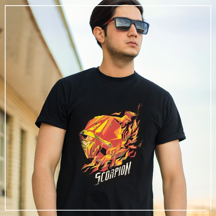 Tričko Mortal Kombat - Scorpion Flame