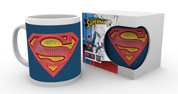 DC Comics - Superman Mesh Logo muggar