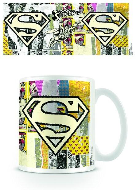 DC Originals - Stålmannen Logo Dist muggar