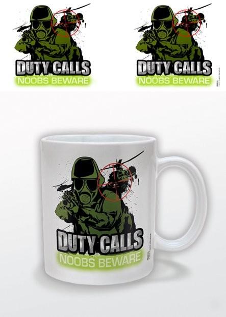 Mugg Duty Calls