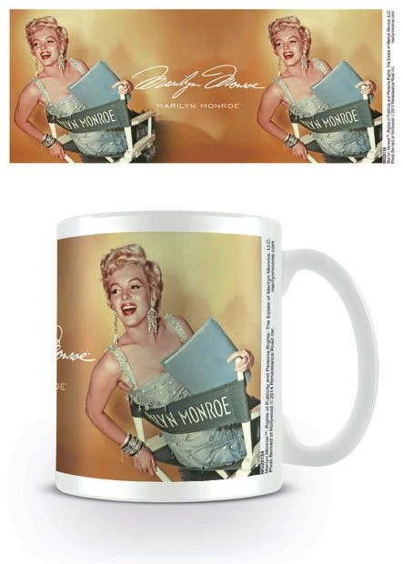 Marilyn Monroe - Gold muggar