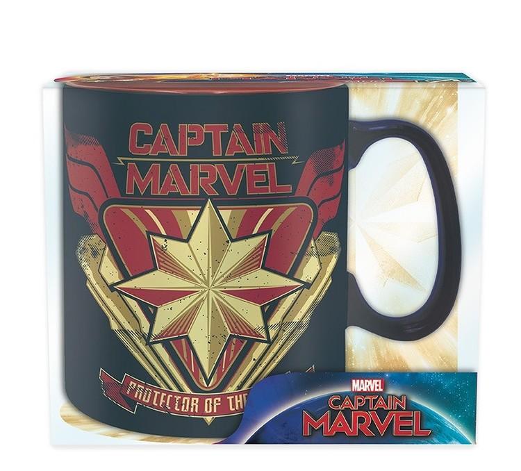 Marvel - Captain Marvel muggar
