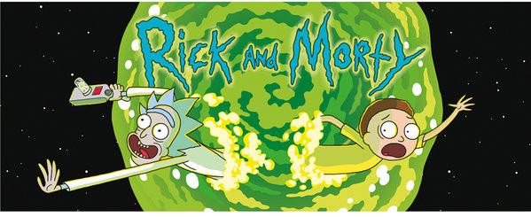 Rick And Morty - Logo muggar
