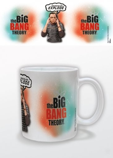 The Big Bang Theory - Explode muggar