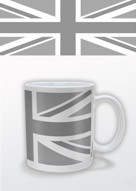 Union Jack (B&W) muggar