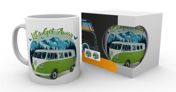 VW Camper - Lets Get Away muggar