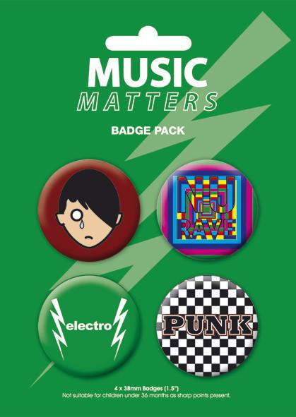 MUSIC MATTERS Insignă