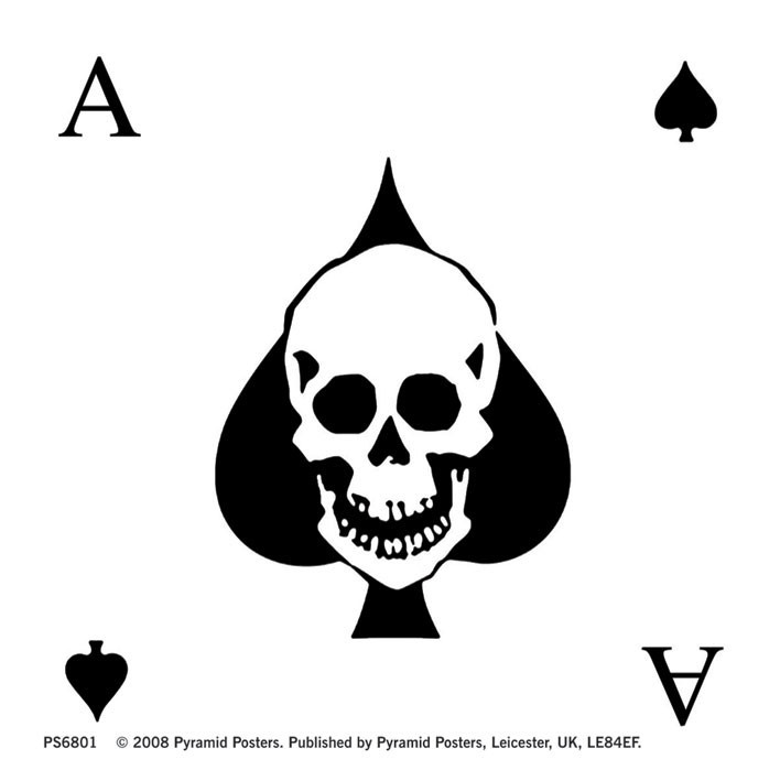 Naklejka ACE OF SPADES