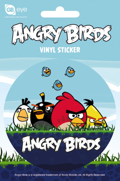 Naklejka Angry Birds - Group