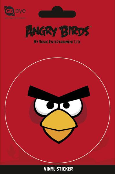 Naklejka Angry Birds - Red Bird