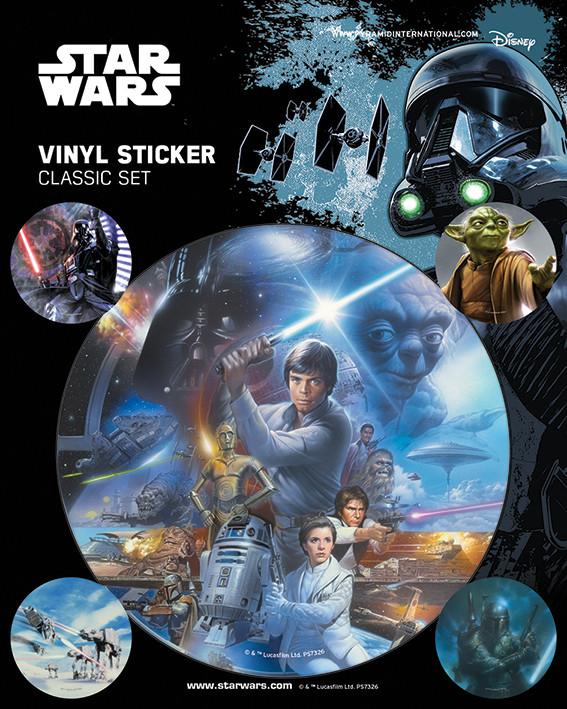 Naklejka  Gwiezdne wojny - Classic