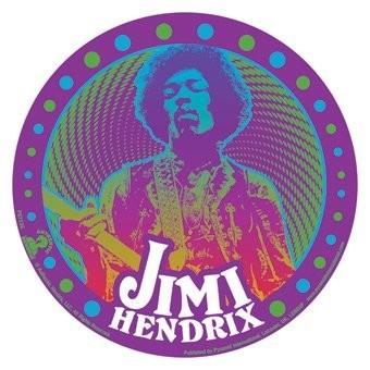 Naklejka JIMI HENDRIX - psychedelic
