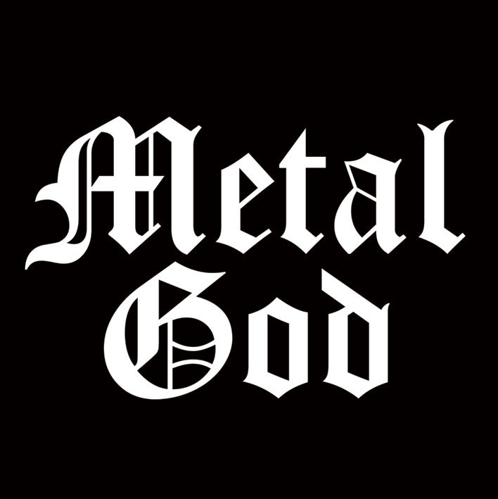 Naklejka METAL GOD
