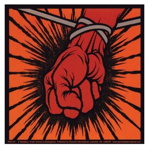 Naklejka METALLICA - st.anger