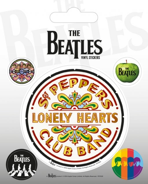 Naklejka  The Beatles - Sgt. Pepper