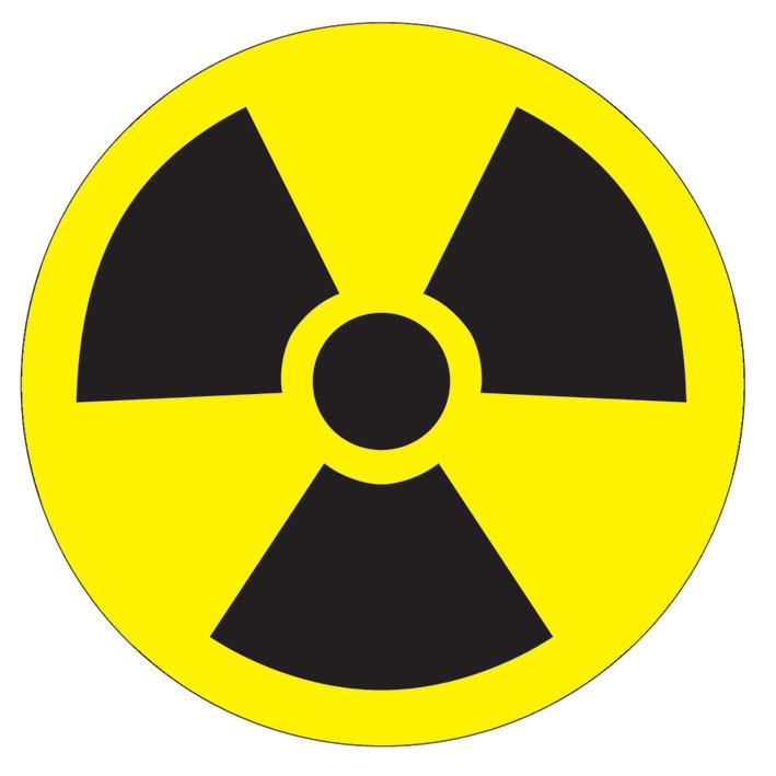 Naklejka TOXIC WASTE - symbol