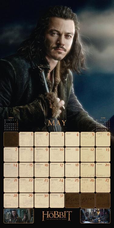 A Hobbit naptár 2018