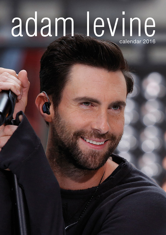 Adam Levine (Maroon 5) naptár 2017