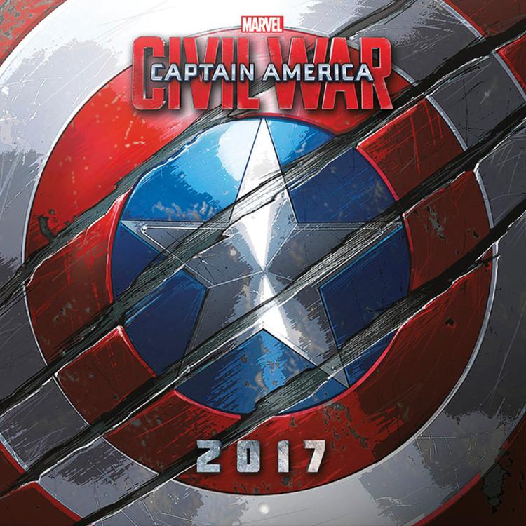 Amerika Kapitány: Polgárháború naptár 2017