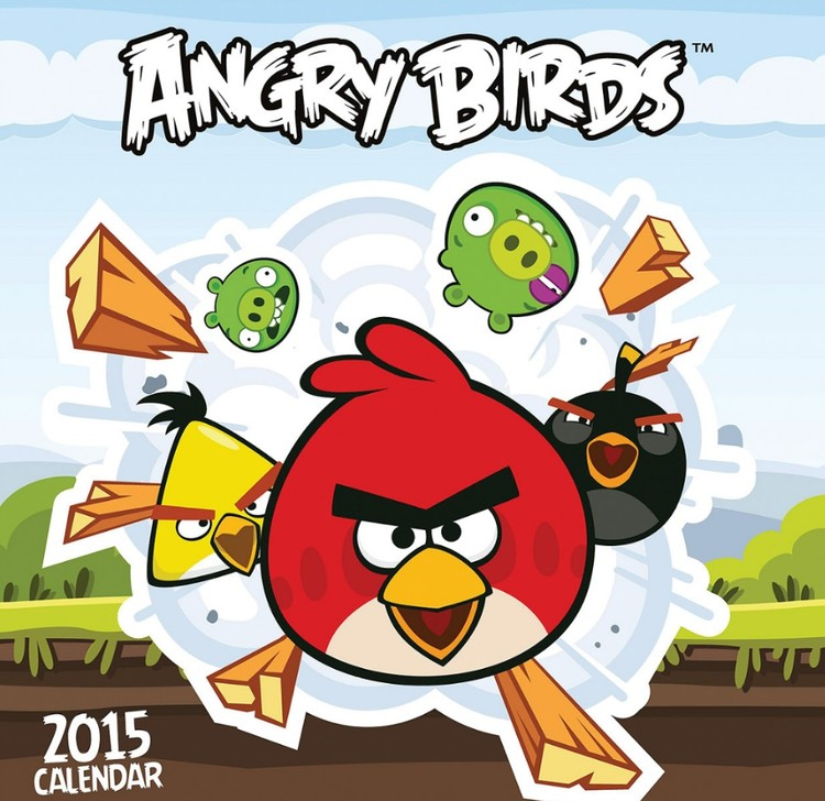 Angry Birds naptár 2017
