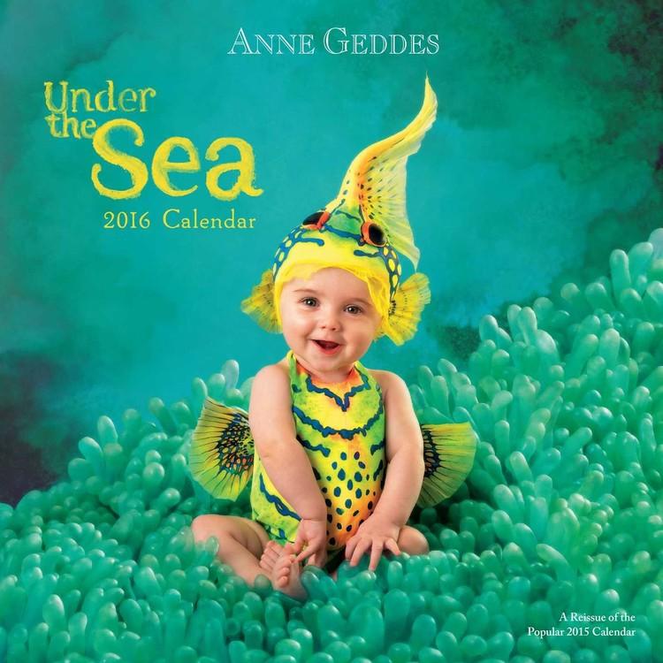 Anne Geddes - Under the Sea naptár 2017