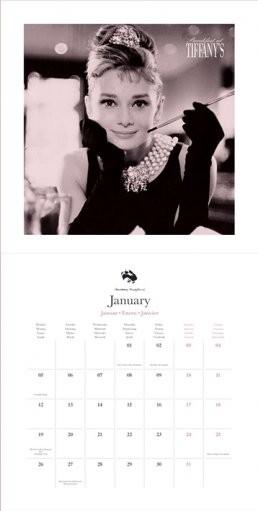 Audrey Hepburn naptár 2018